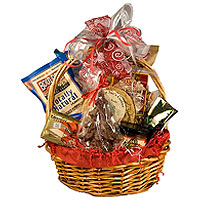 Charming Basket with Fair Trade Gift Hamper